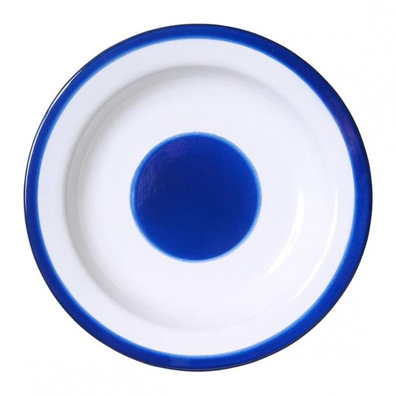 Assiette creuse, Stefania di Petrillo — Bleu Roi Ponio