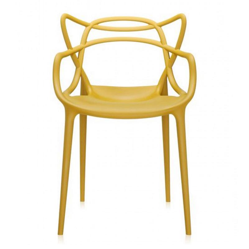 chaise-kartell-jaune-moutarde-ponio