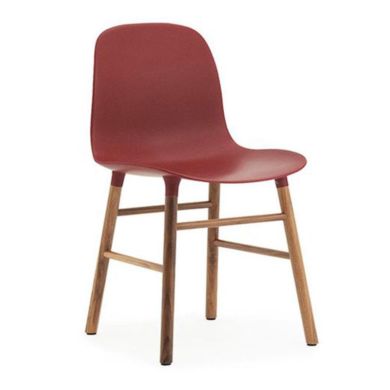 chaise-normann-copenhagen-rouge-bordeaux-ponio