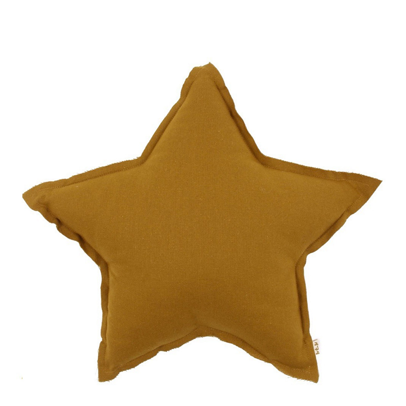 coussin-etoile-numero74-jaune-moutarde-ponio