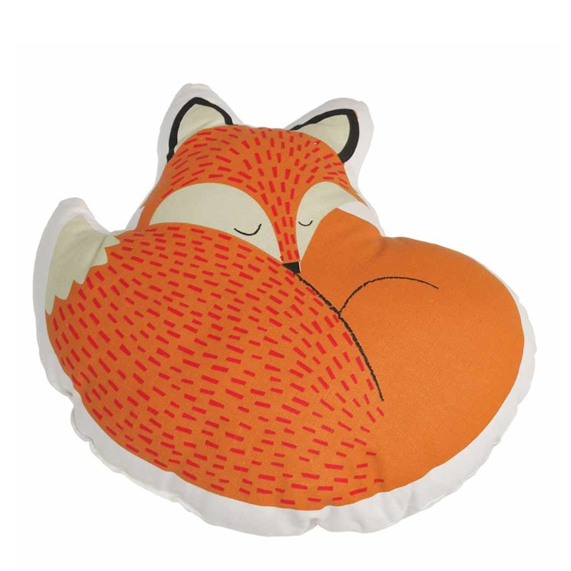 Coussin Renard, Dot com gift shop — Orange citrouille