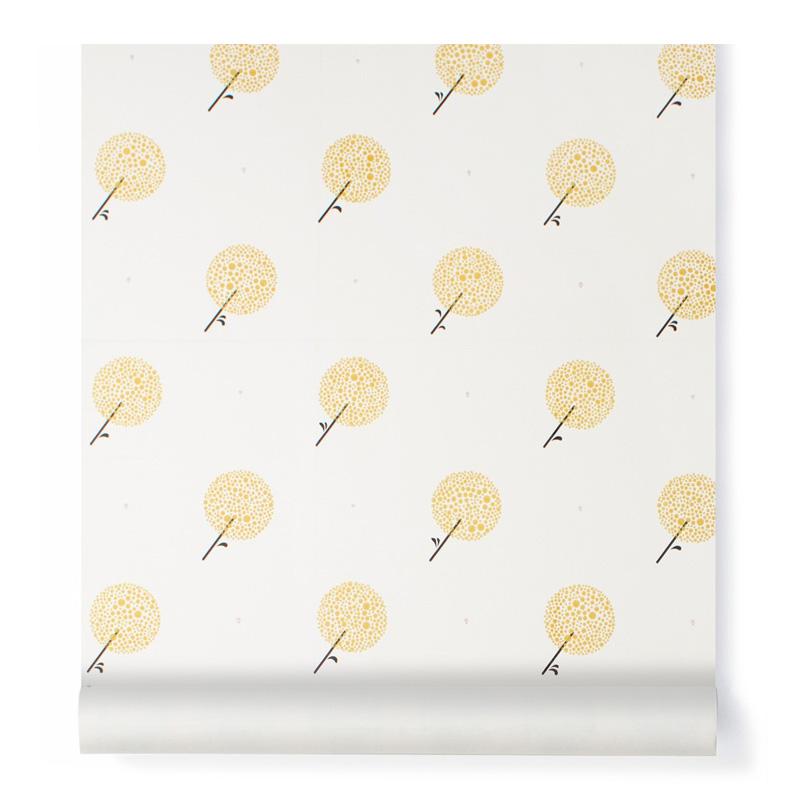 papierpeint-bartsch-jaune-moutarde-ponio
