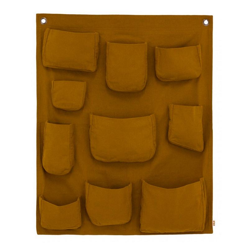 pochette-murale-numero-74-jaune-moutarde-ponio