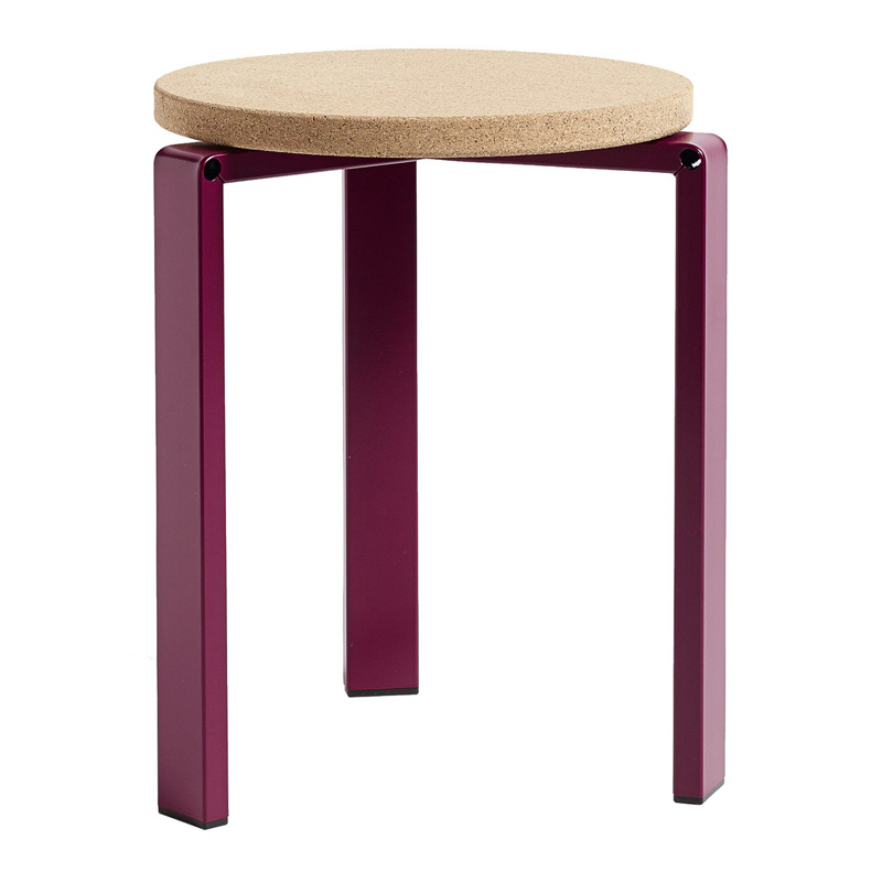 tabouret-wrong-for-hay-rouge-bordeaux-ponio