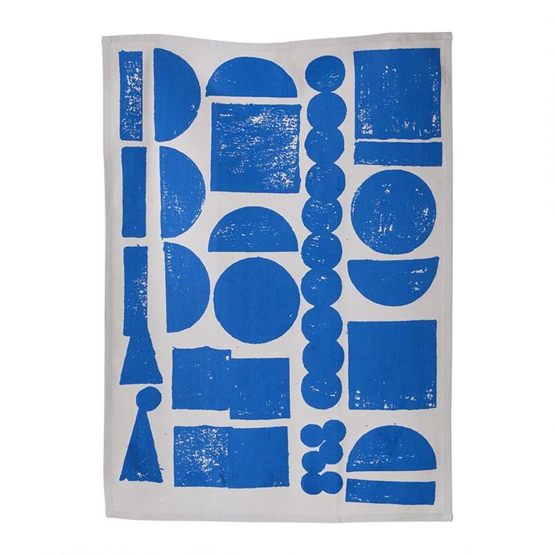 Torchon, Ferm Living — Bleu Roi Ponio