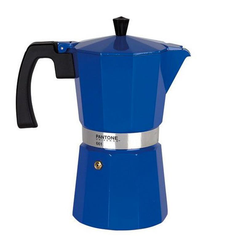 Cafetière, Pantone 661— Bleu Roi, Ponio