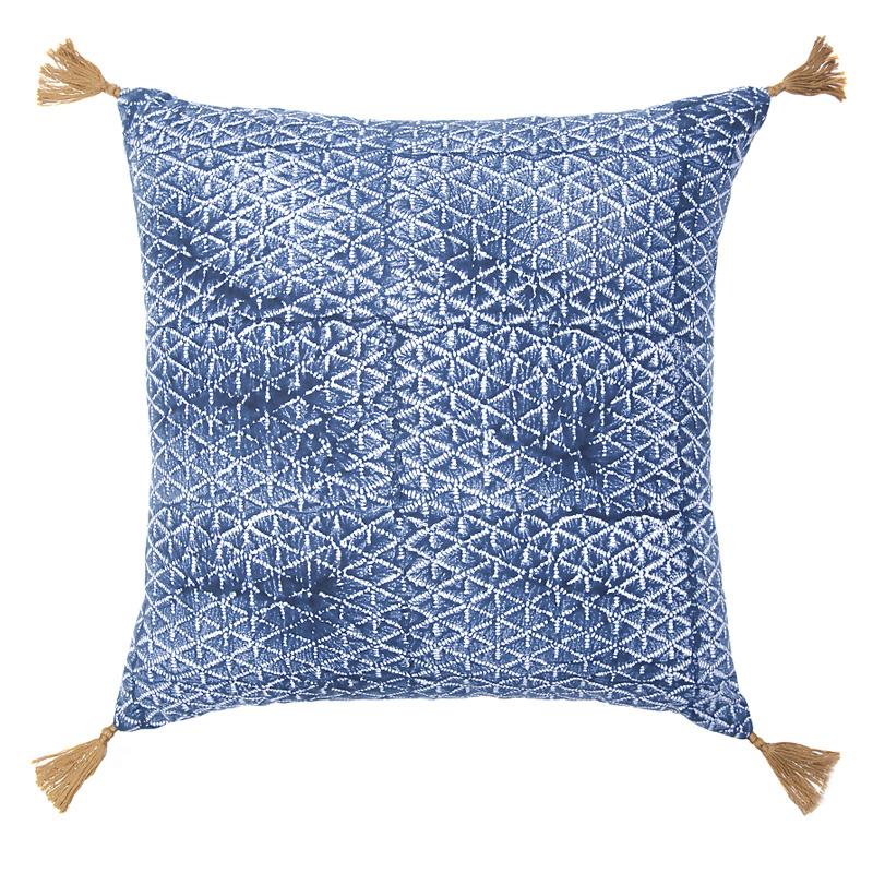Coussin, Jamini— Bleu Roi, Ponio