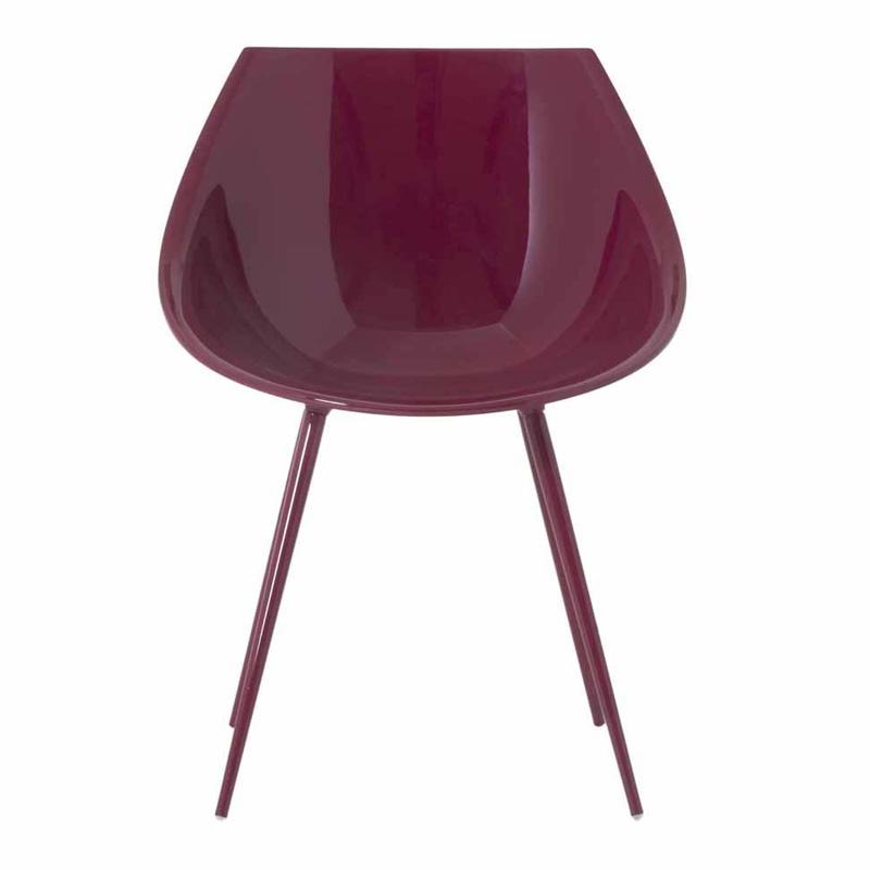 fauteuil-driade-rouge-bordeaux-ponio