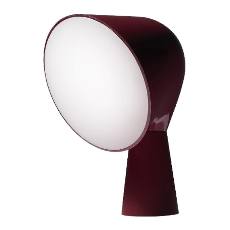 lampe-a-poser-Foscarini-rouge-bordeaux-ponio