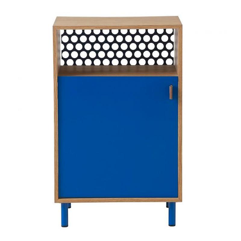 Table de chevet, Ferm Living — Bleu Roi, Ponio