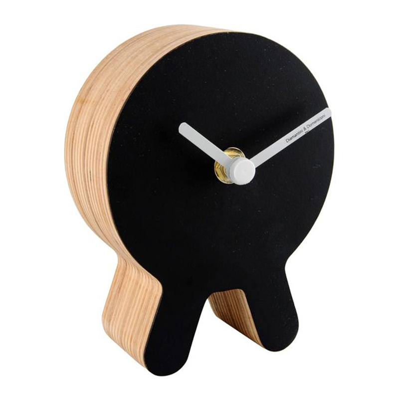 Horloge, DIAMANTINI & DOMENICONI — Noir réglisse