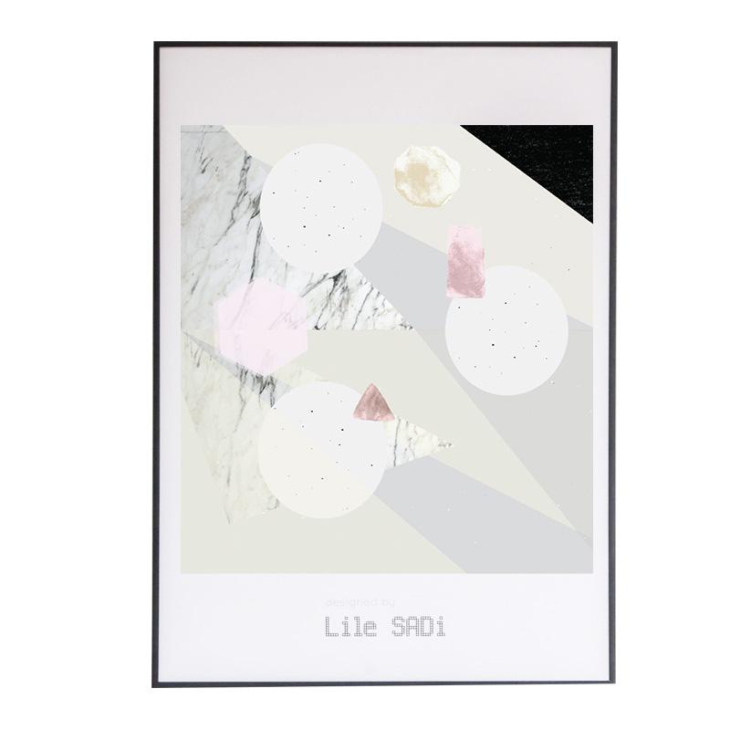 Affiche, Lile Sadi — Marbre