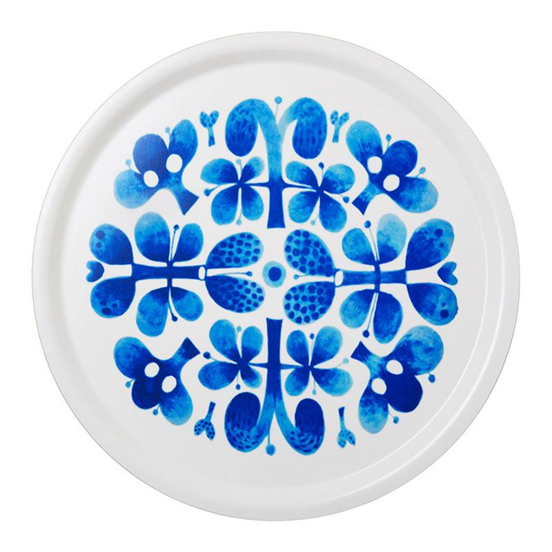 Assiette, Optodesign — Bleu Roi