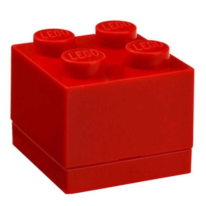 Boîte de rangement Lego, Room Copenhagen — Rouge Coquelicot
