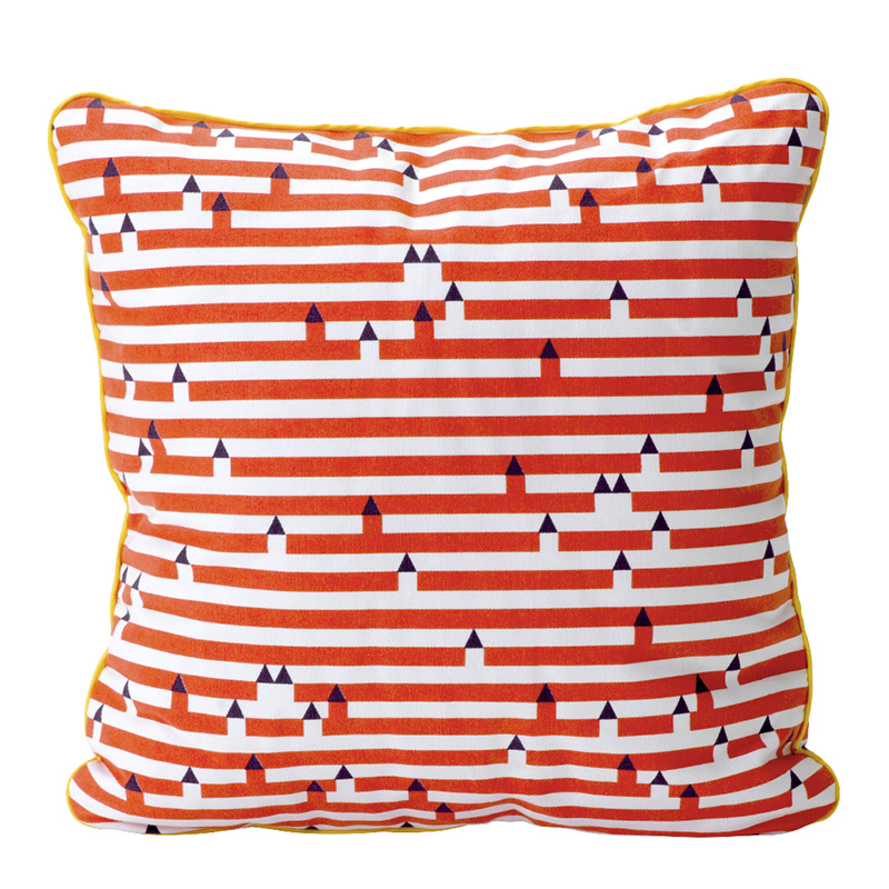 Coussin, Fermob — Rouge Coquelicot