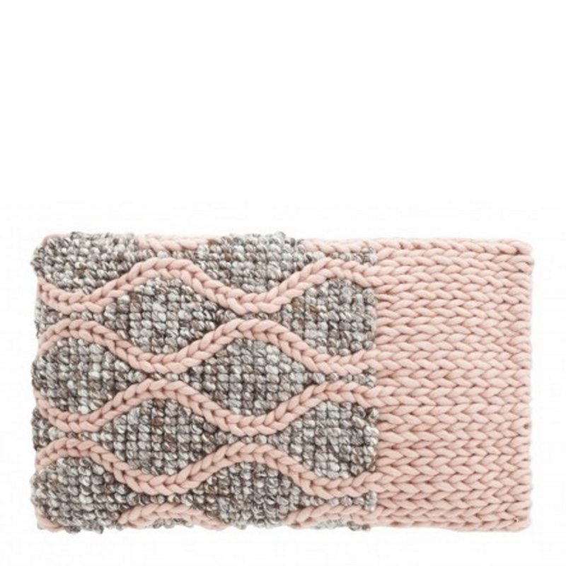 Coussin, Gan rugs — Rose Dragée
