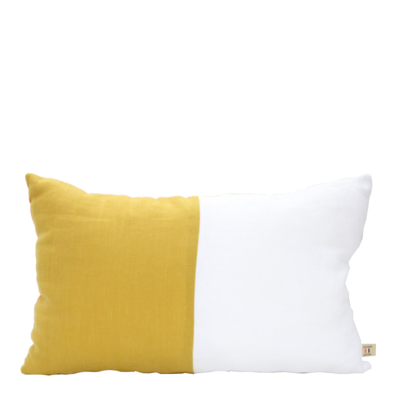 Coussin, Lab boutique — Jaune Moutarde