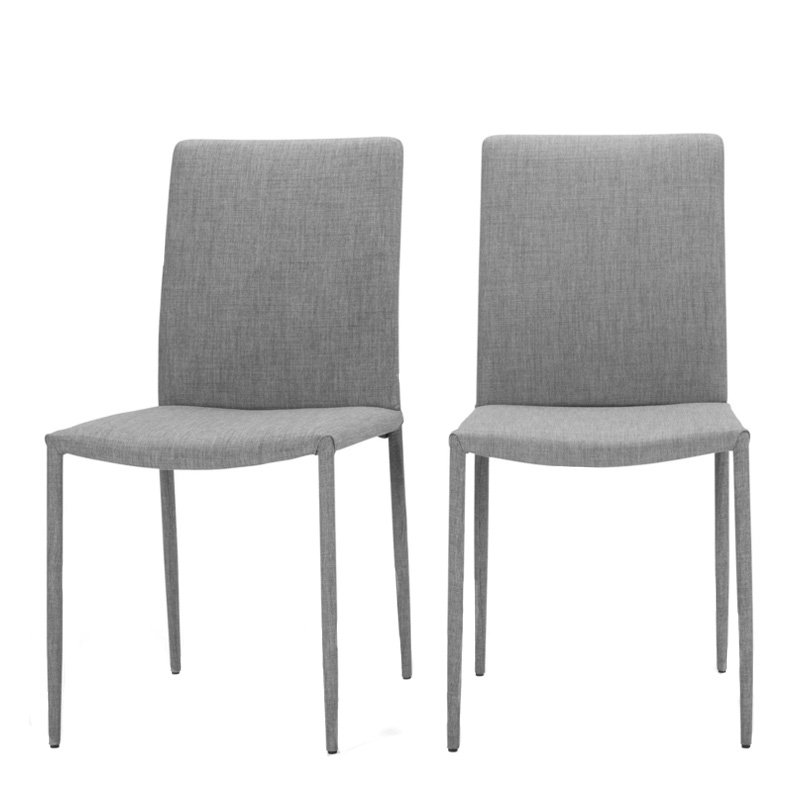 Duo de chaises, Made — Gris Perle, Ponio