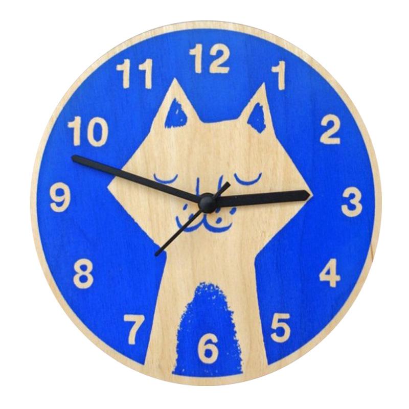 Horloge, Lisa Jones — Bleu Roi
