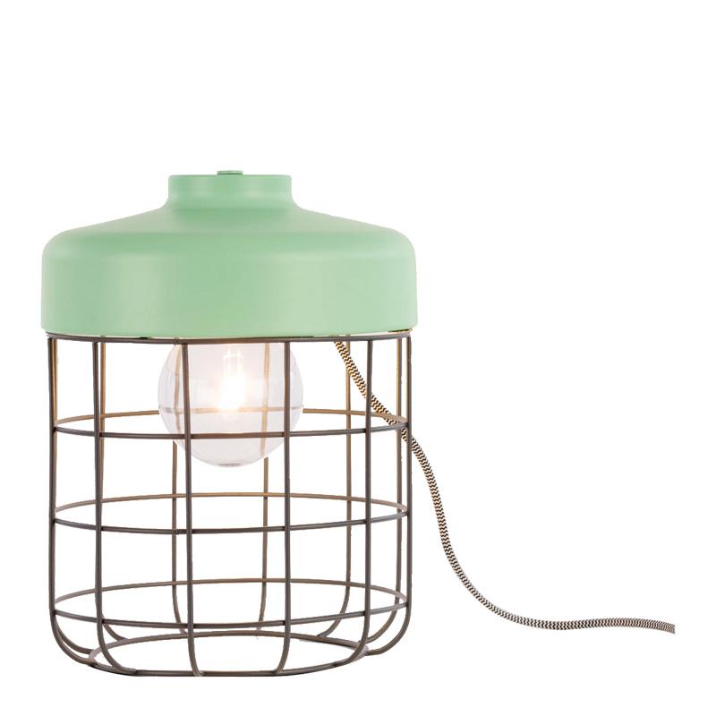 Lampe de sol, Made — Vert d'eau
