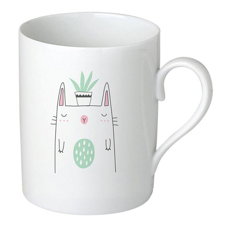 Mug, Sobigraphie — Vert d'eau