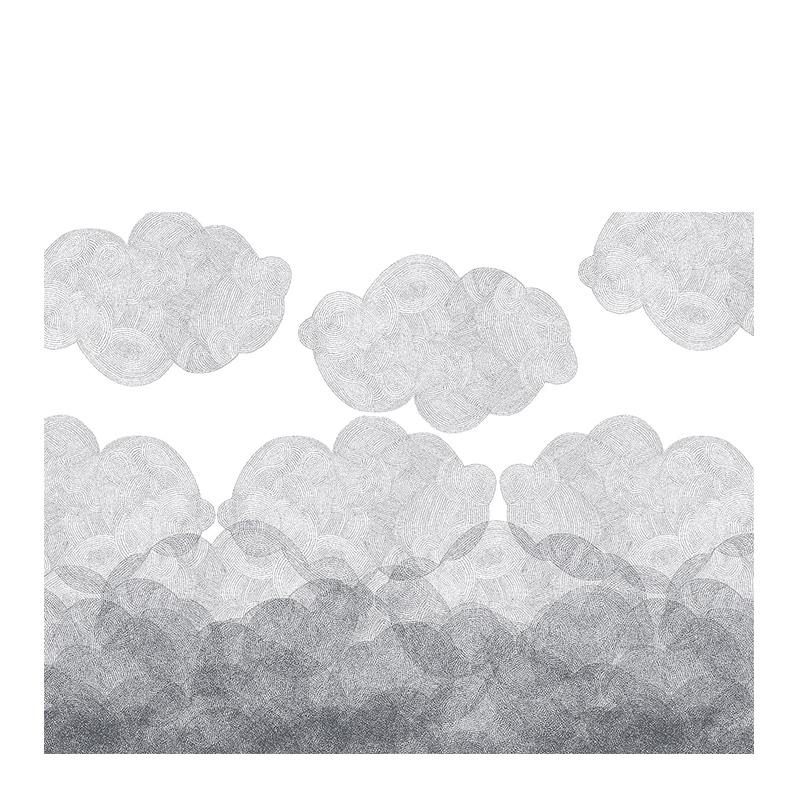 Papier Peint, Bien Fait — Gris Perle, Ponio