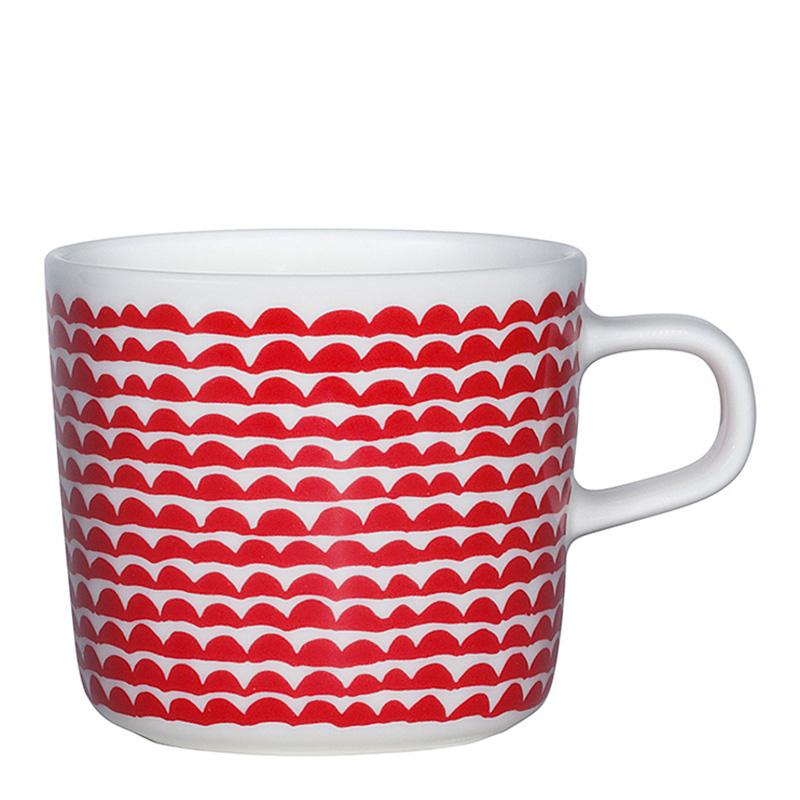 Mug, Marimekko — Rouge Coquelicot