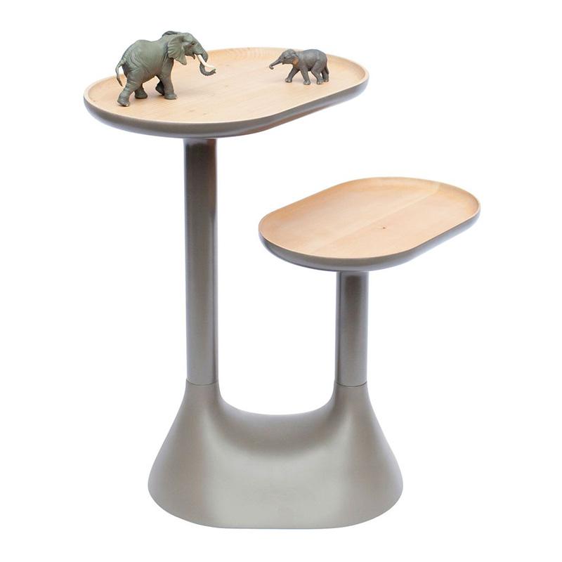 Table Basse, Moustache — Gris Perle, Ponio