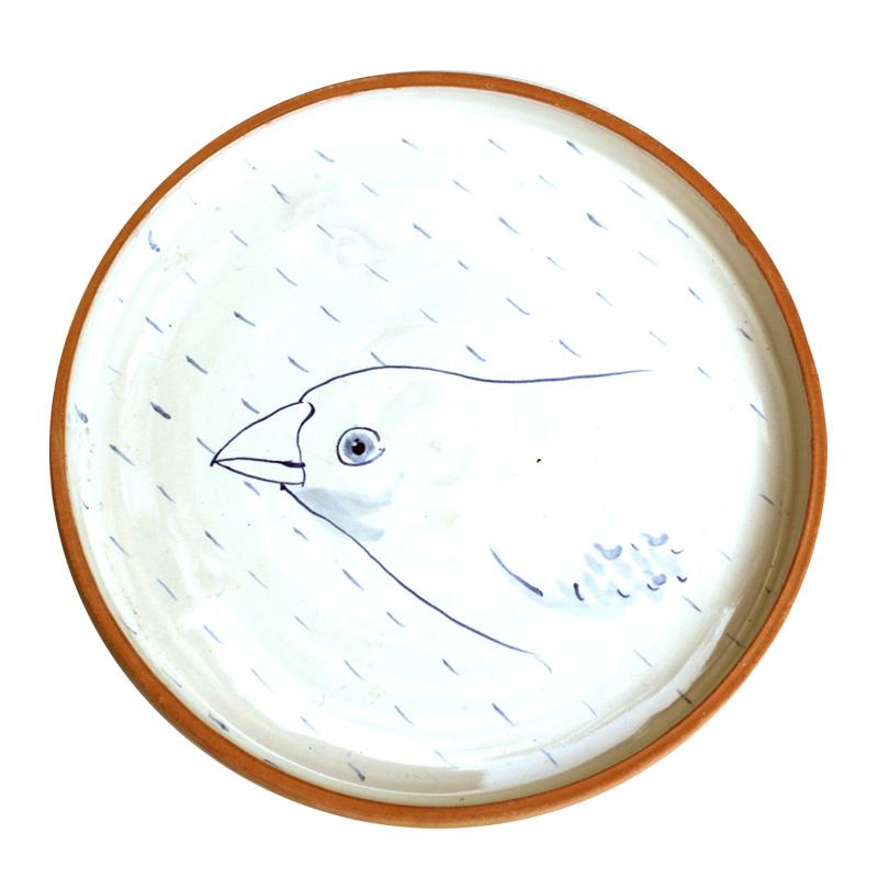 Assiette, Gregory Allais Ceramic — Bleu Roi, Ponio