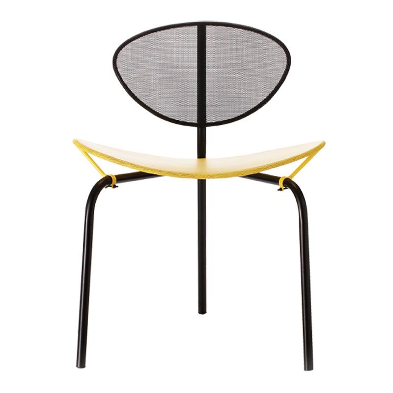 Chaise, Gubi — Jaune Citron, Ponio