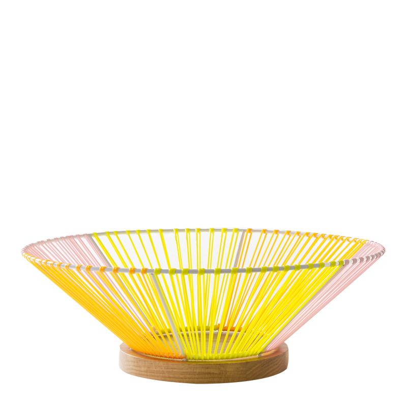 Corbeille, Elsa Rande — Jaune Citron, Ponio