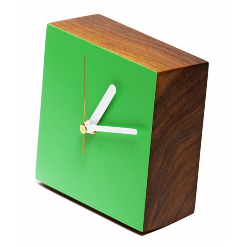 Horloge, Intérieur et Objets — Vert Prairie, Ponio