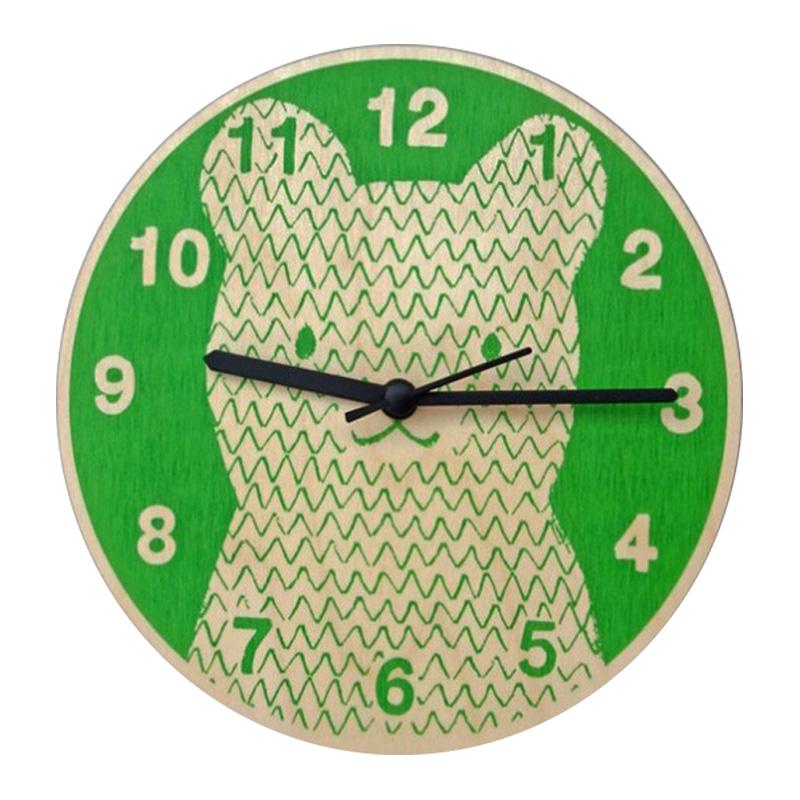 Horloge, Lisa Jones — Vert Prairie, Ponio