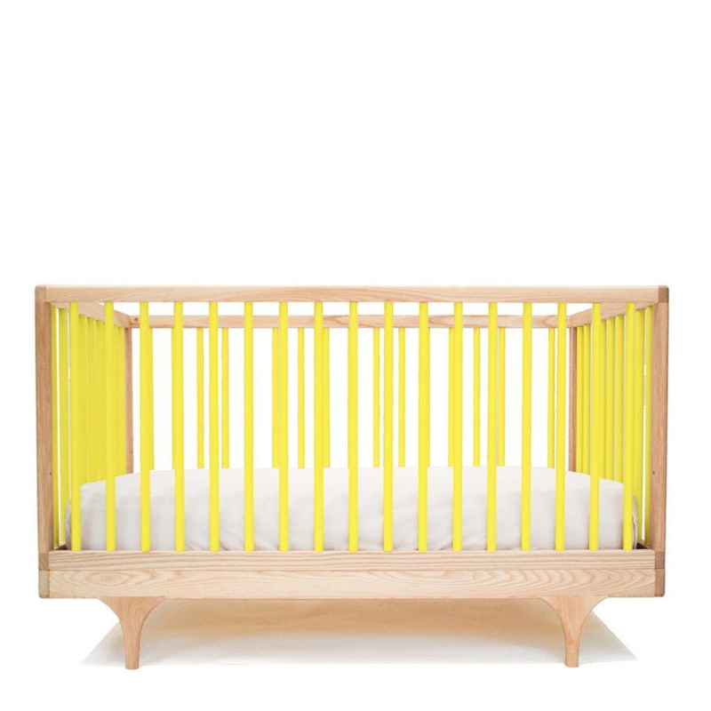 Lit de bébé, Kalon Studios — Jaune Citron, Ponio
