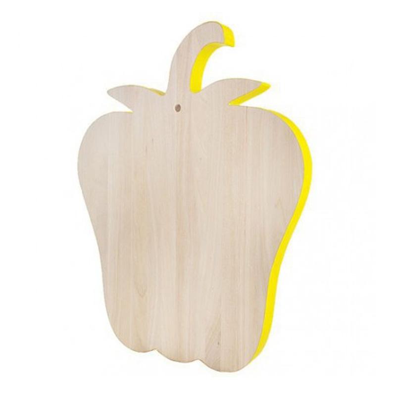 Planche à découper Poivron, Seletti — Jaune Citron, Ponio