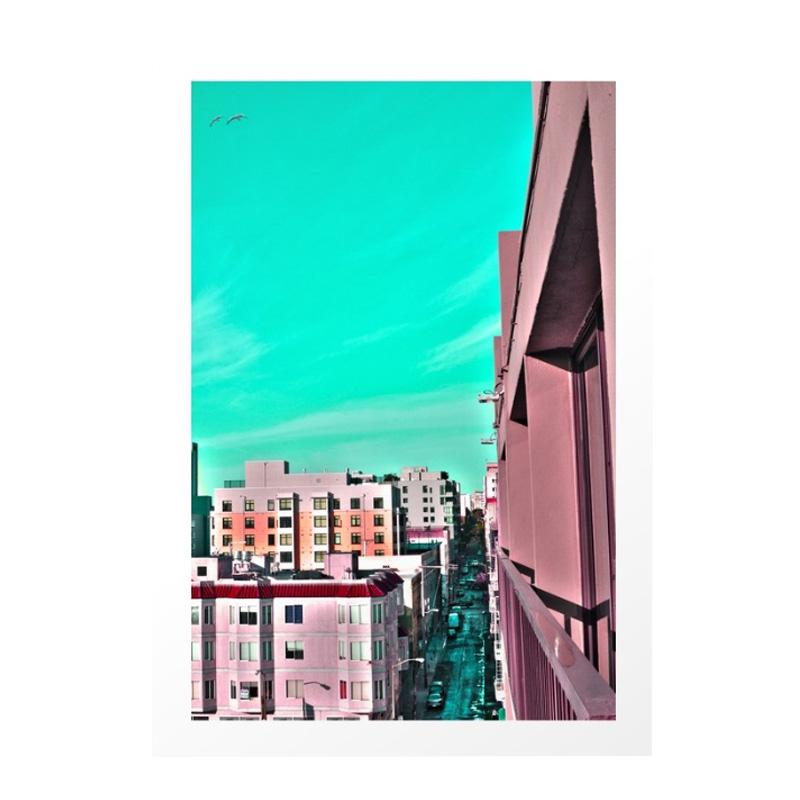 Affiche, John Alim Studios — Bleu Turquoise, Ponio