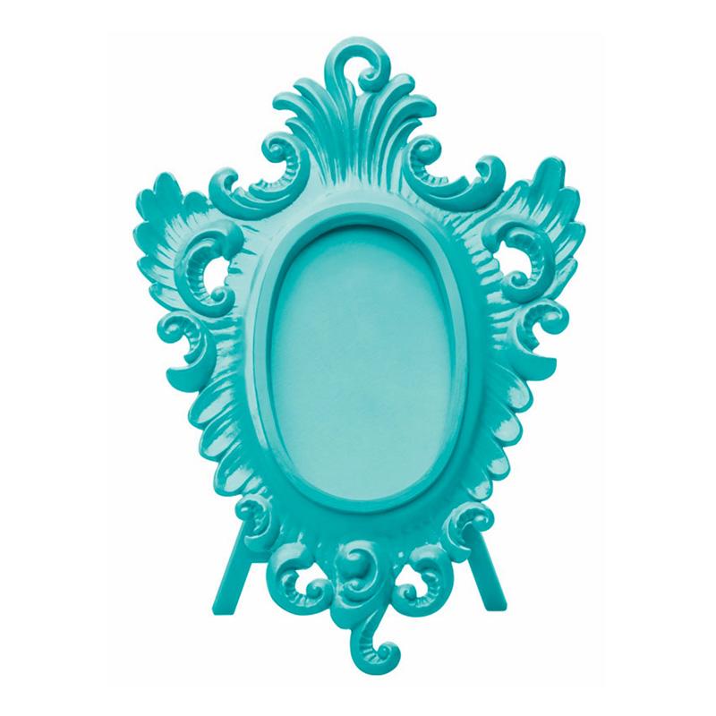 Cadre photo, Koziol — Bleu Turquoise, Ponio