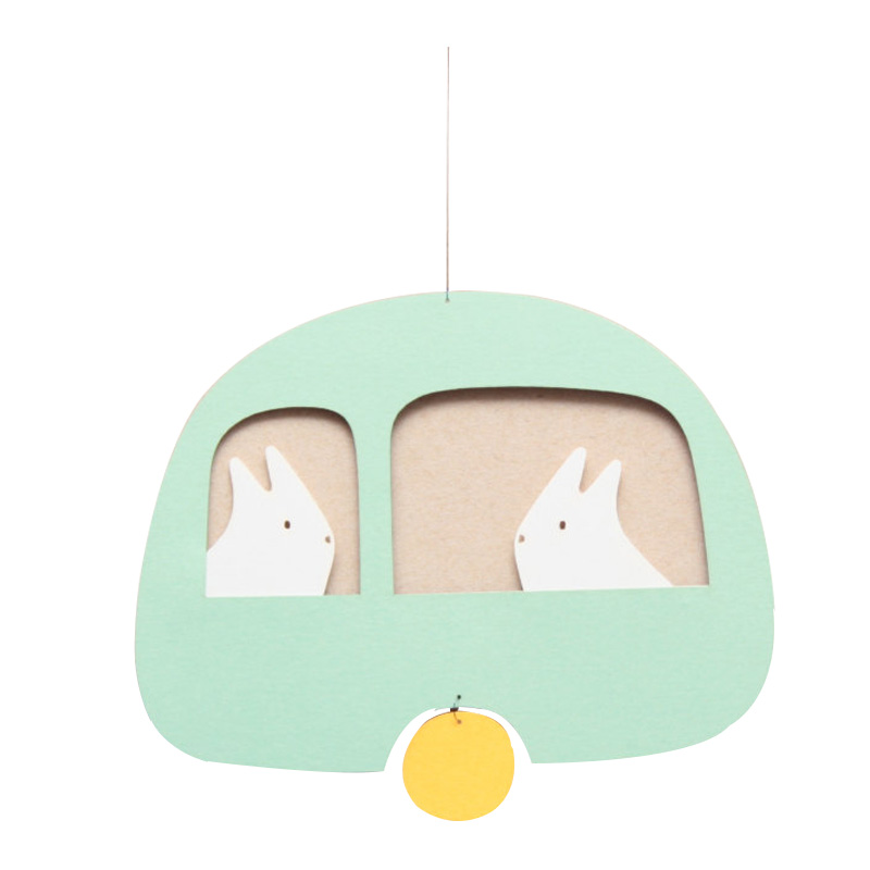 Mobile Lapin, Tricot by Tricot — Vert d'eau, Ponio