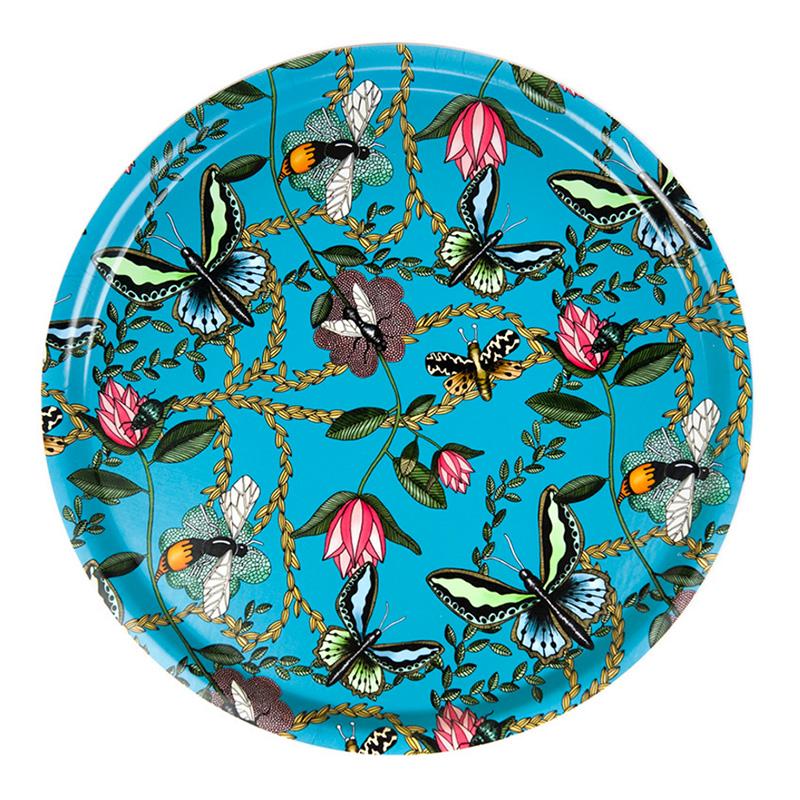 Plateau, Nadja Wedin Design — Bleu Turquoise, Ponio