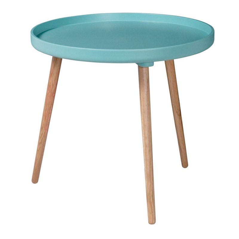 Table, Drawer — Bleu Turquoise, Ponio