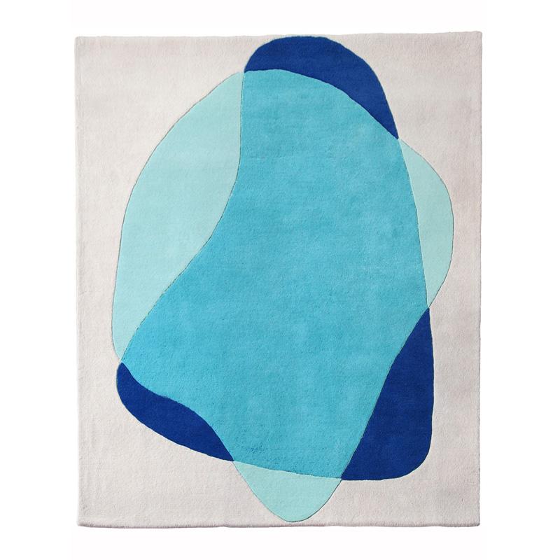 Tapis, Hartô — Bleu Turquoise, Ponio