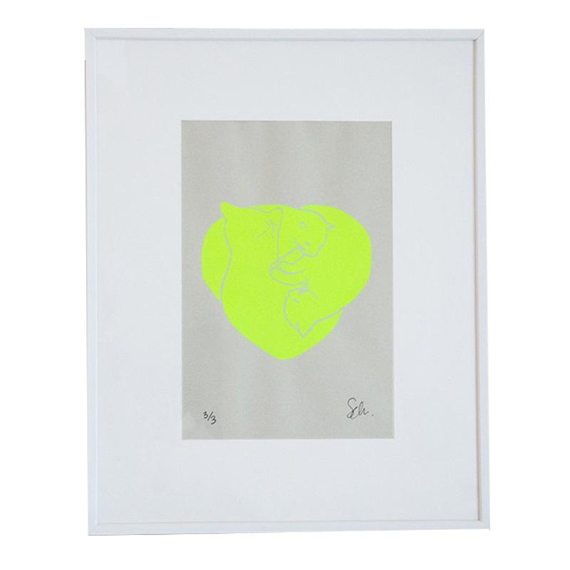 Affiche, Cathen Design — Fluo, Ponio