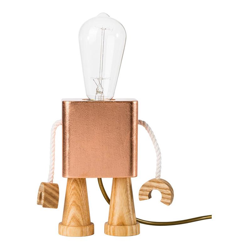 Lampe, Matt Pugh — Cuivre, Ponio