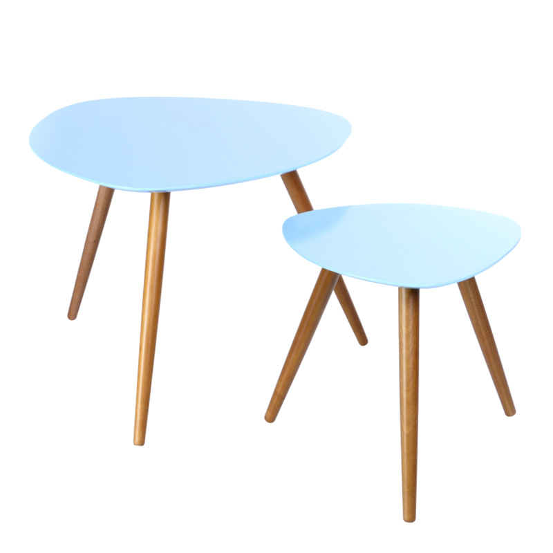 Tables Basses, Miléo — Bleu Nordique, Ponio