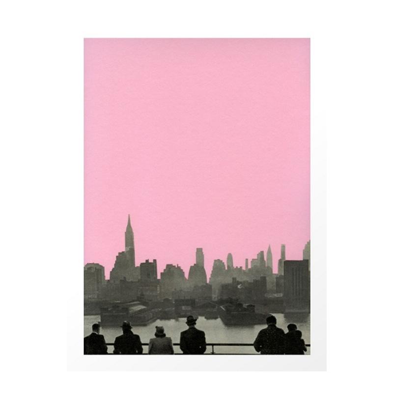 Affiche, Cassia Beck — Rose Bonbon, Ponio