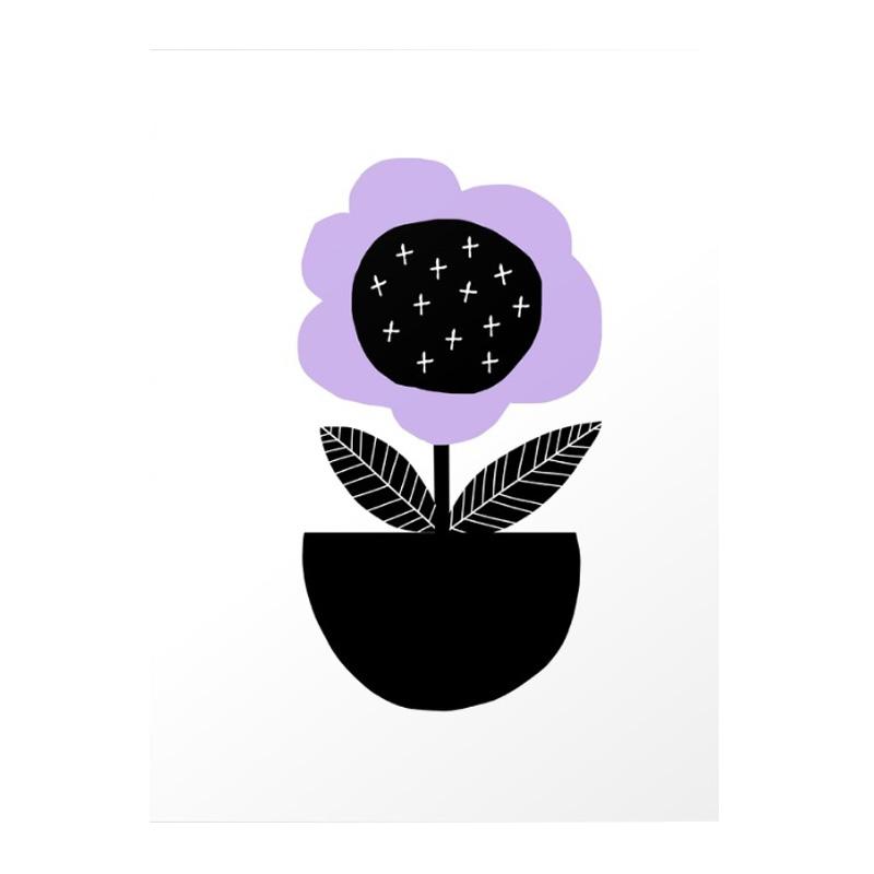 Affiche, Hesperoo — Violet Lilas, Ponio