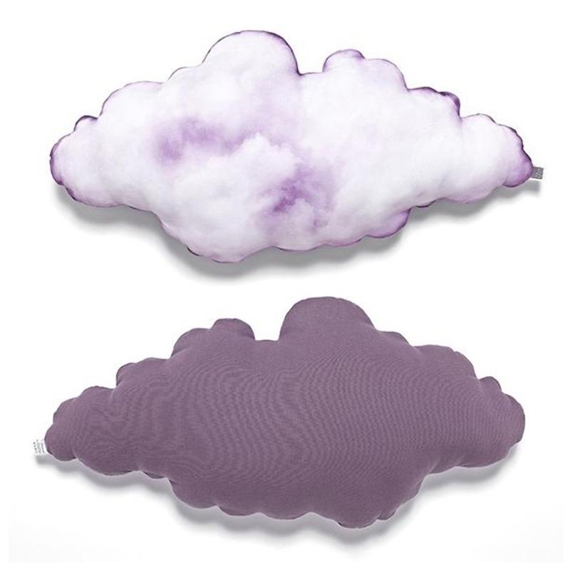 Coussin, Ize — Violet Lilas, Ponio