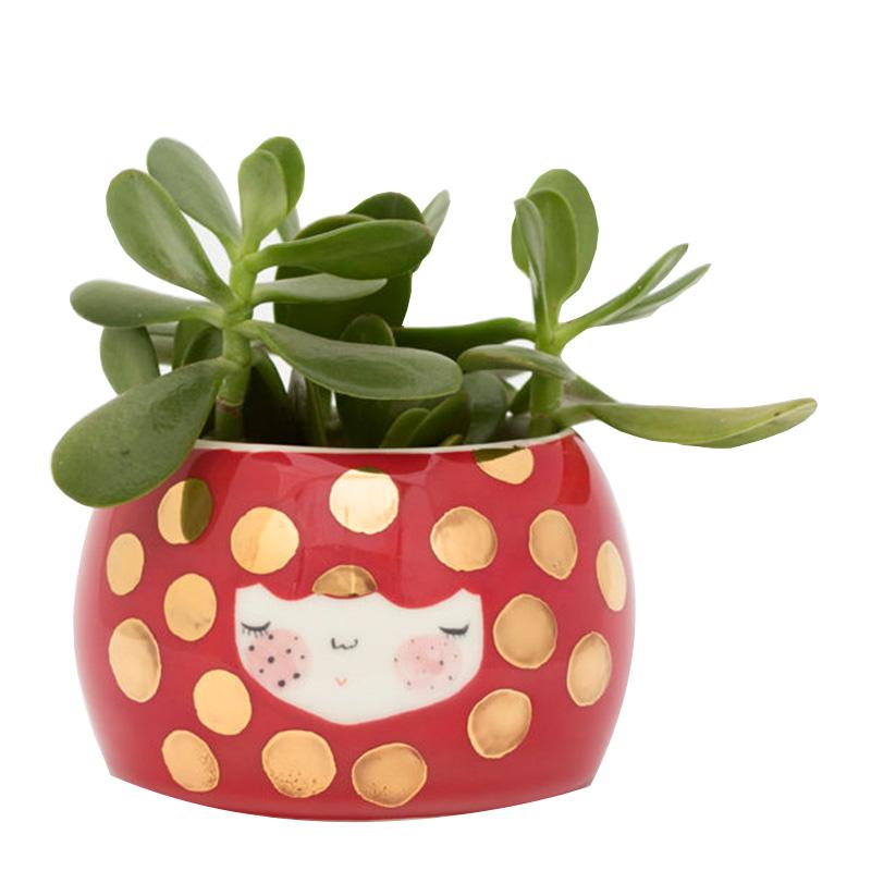 Pot à Plantes, Marinski — Doré, Ponio