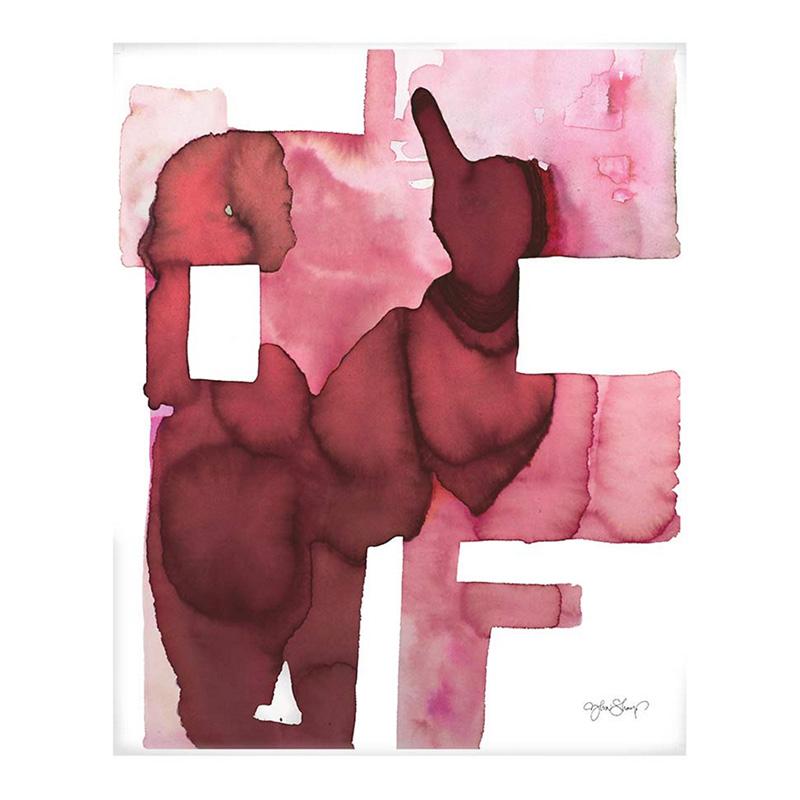 Affiche, Ylva Skarp — Rouge Bordeaux, Ponio