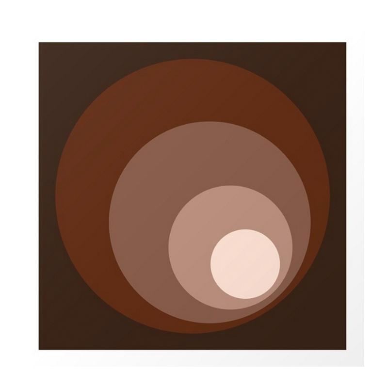 Affiche, Natalie Paskell — Marron Noisette, Ponio